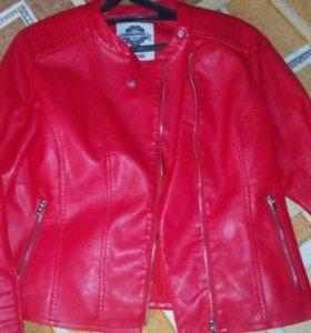 Новая кожанная куртка