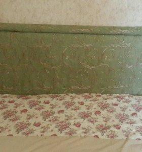 Кровать 2-х спальная + матрас