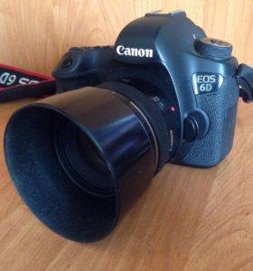 Продам Canon eos 6D + 50mm f/1.4