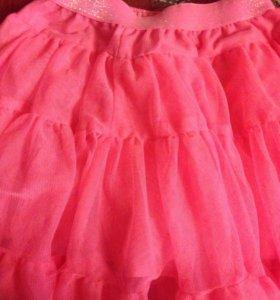 Новая нарядная юбка на 92-98р