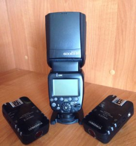 Продам Canon Speedlite 600 EX-RT + YN 622C II