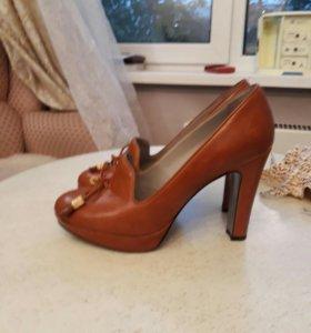Итальянские туфли 38р. Rita Eliseo Vero Cuoio