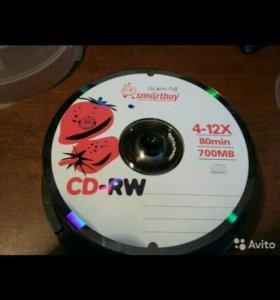 Новые CD-RW диски