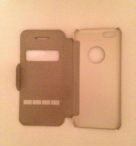 Чехол Moshi SenseCover Titanium iPhone 5/5S/SE