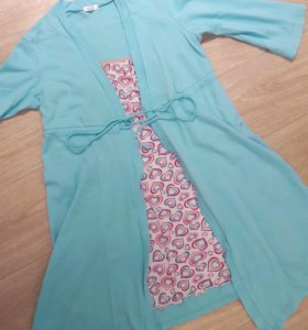 Халат + сорочка для беременных и кормящих