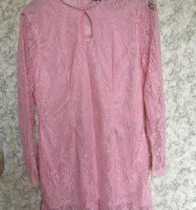 Новое гипюровое платье