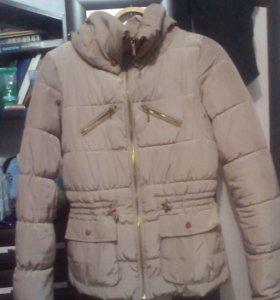 Куртка холодная осень-теплая зима