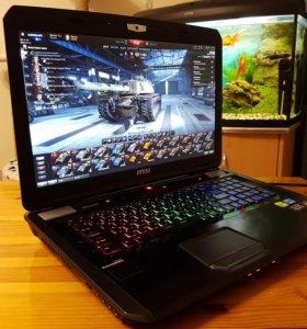 Игровой ноутбук Msi gt70 i7 3630 GTX870m