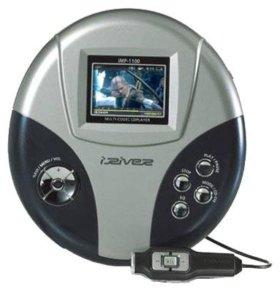 Divx/XviD/MP3/VCD-пл-р iRiver iMP-1100 новый гар-я