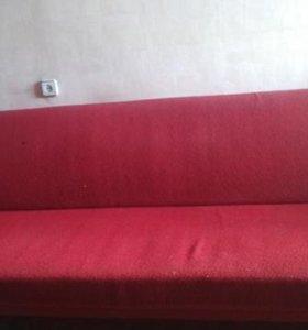 раскладной 2-х спальный диван