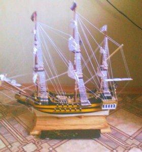 Корабль ручной сборки