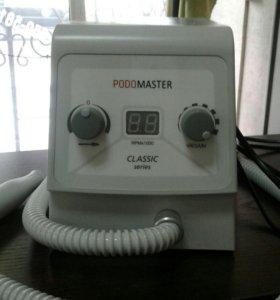 Аппарат для педикюра с пылесосом.