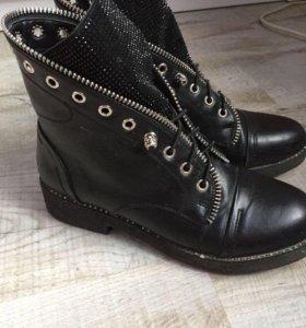 Ботинки женские размер 39