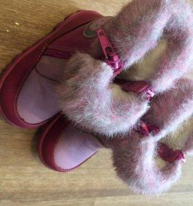 Ботинки котофей зимние, новые