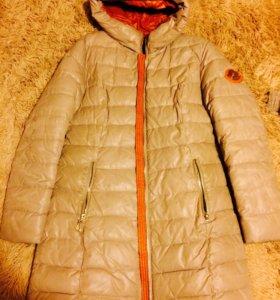 Пальто(пуховик) зимний р 46
