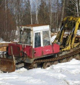 Трактор трелевочный ЛТ-187