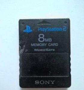Карта памяти для PS2