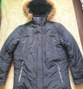 Мужская очень теплая зимняя куртка