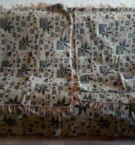 Продам пледы на диван и два кресла