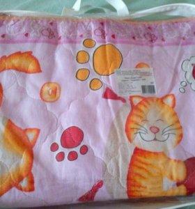 Комплект постельного белья+ одеяло и подушка