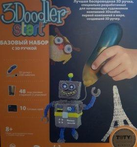 3Д Ручка 3DOODLER START, базовый набор