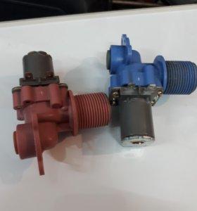 Электроклапан на горячую и холодную воду.