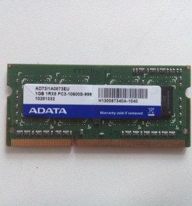 Оперативная память ADATA DDR III 1 Gb