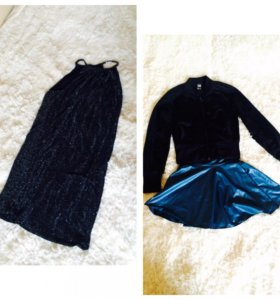 Пакет одежды (платья,жилетка и тд)