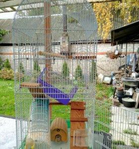 Клетка для птиц и домашних грызунов
