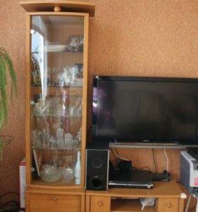 шкаф для посуды и тумбы(разъемные)