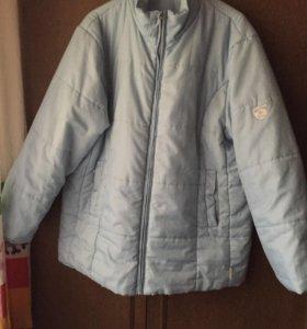 Демисезонная  женская куртка 52/54 разм