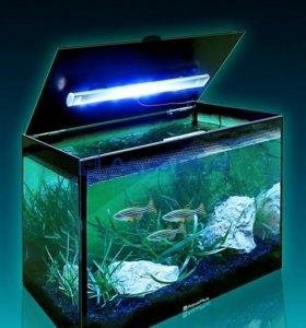 Аквариум LED Компакт со светильником 15л
