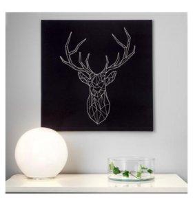 Картина, Серебряный олень