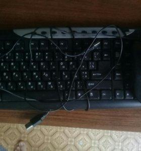 Клавиатура + Игровая мышь