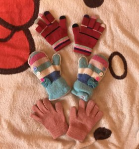 Перчатки и варежки для девочки