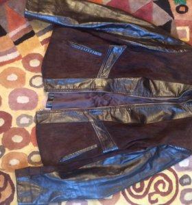 Кожаная куртка 44-46