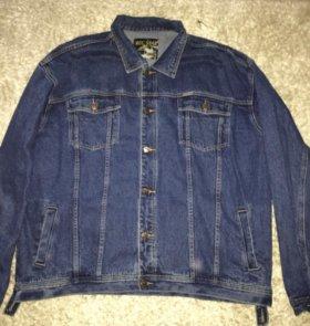Мужская джинсовая куртка 9xl