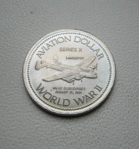 Юбилейная монета «Aviation dollar - World War II»