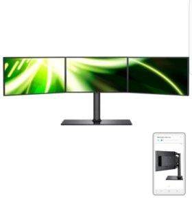 Трёхэкранный монитор Samsung новый