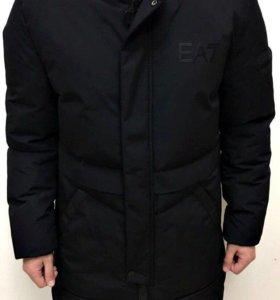 Тёплая куртка Еа7