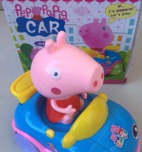 Машинка «Свинка Пеппа» новая