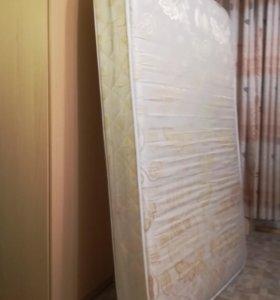 Кровать с матрасом и орт. основанием