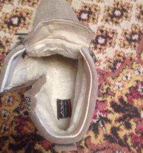 Ботинки женские,утеплённые