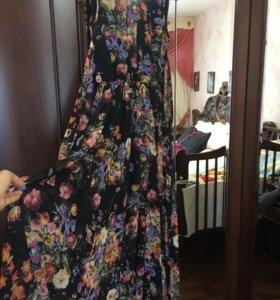 Платье в пол ! Очень красивое