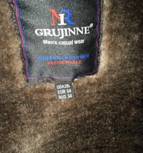 Куртка зимняя кожзам