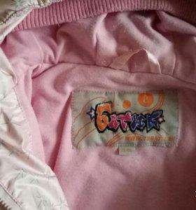 Куртки осень-весна для девочки