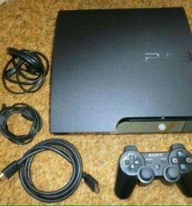 Прошитая PS3 + FIFA 18+GTA 5