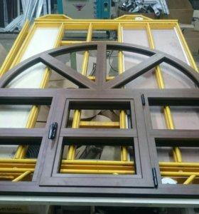 Алюминиевые окна, двери!