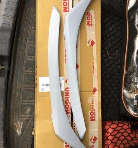 Реснички на фары Honda CR-V 2015 рестайлинг