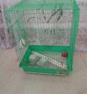 Клетка д / попугая
